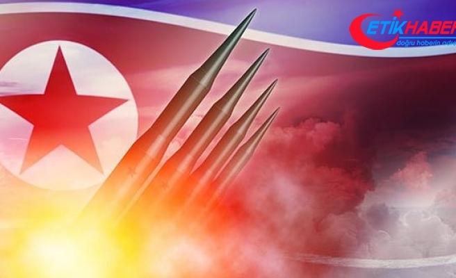 Kuzey Kore füze fırlattı... Japonya'da paniğe yol açtı