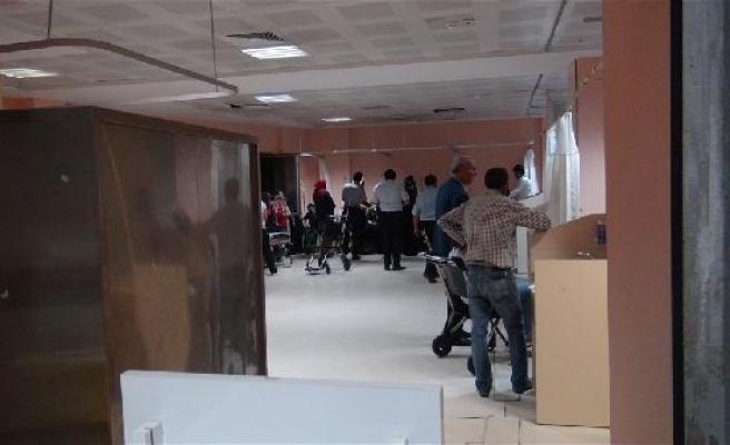 Mevlit yemeğinden zehirlenen 40 kadın, hastaneye kaldırıldı
