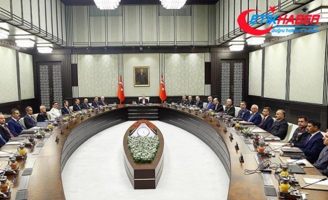 MGK Bildirisinden: Türkiye hudut bölgesinde her türlü tedbiri almaya devam edecek