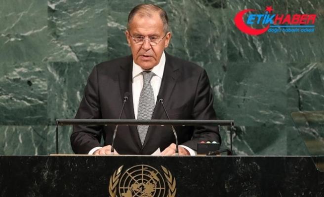 Rusya Dışişleri Bakanı Lavrov: NATO, soğuk savaş iklimini yeniden yaratmaya çalışıyor