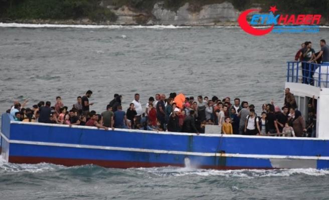 Edirne'de 368 kaçak ve sığınmacı yakalandı