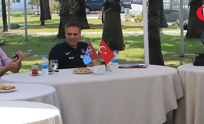 """""""Trabzonspor mutlaka zirve yarışında olacak"""