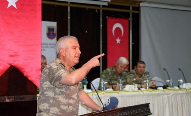 Tümgeneral Tarakçı: Son terörist kalana kadar mücadeleye devam