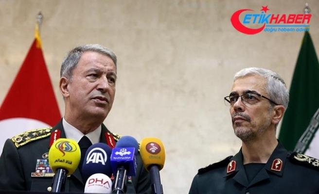 Akar: Mevcut tehditlere karşı İran'la işbirliğimizi geliştiriyoruz