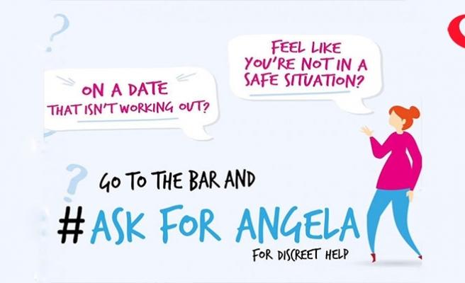 'Angela'yı sormak' tacizden kurtarıyor