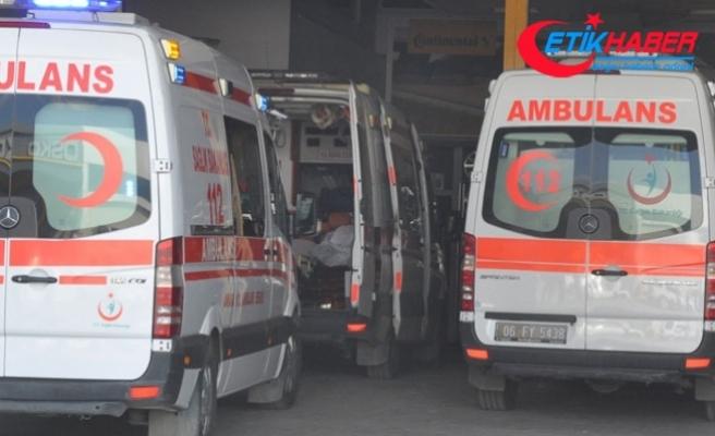 Ankara'da kalorifer kazanı patladı: 1 ölü