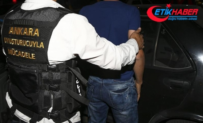 Ankara'daki uyuşturucu operasyonlarında gözaltına alınan 37 kişi tutuklandı