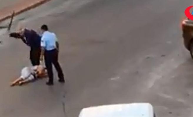 Antalya'da kadını darbeden iki polisten biri tutuklandı