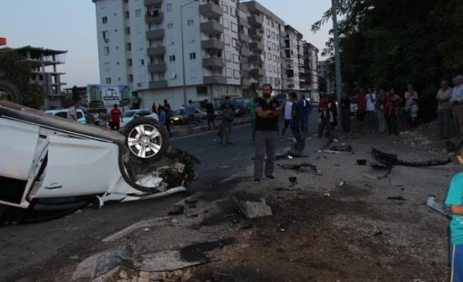 Antalya'da zincirleme kaza: 7 yaralı