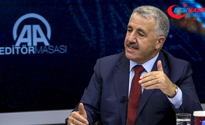 Bakan Arslan: 3. havalimanına Şubat 2018'e kalmadan ilk uçağı indireceğiz