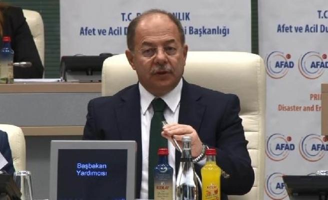 """Başbakan Yardımcısı Akdağ, """" İstanbul afet farkındalık ve hazırlık toplantısı""""na katıldı"""