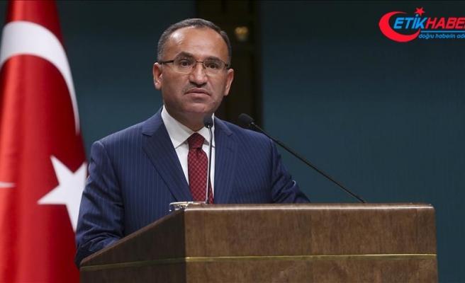 Bekir Bozdağ: CHP'li Tezcan'ın açıklaması büyük bir edepsizliktir, ahlaksızlıktır, terbiyesizliktir, seviyesizliktir