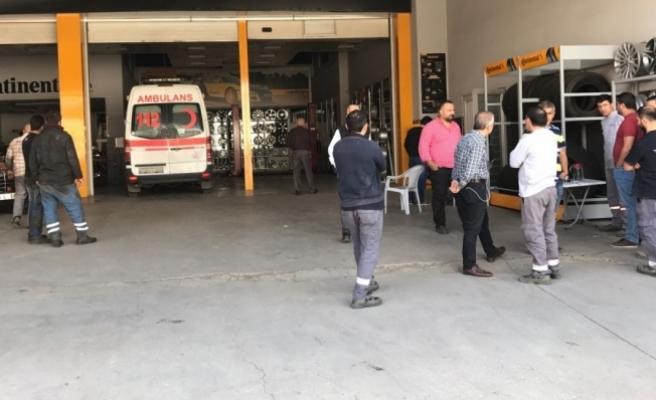 Başkentte lastik dükkanında patlama: 1 ölü, 1 yaralı