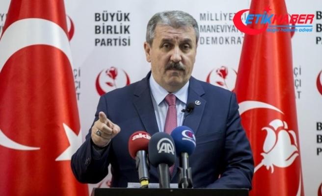 BBP Genel Başkanı Destici'den 'belge' açıklaması