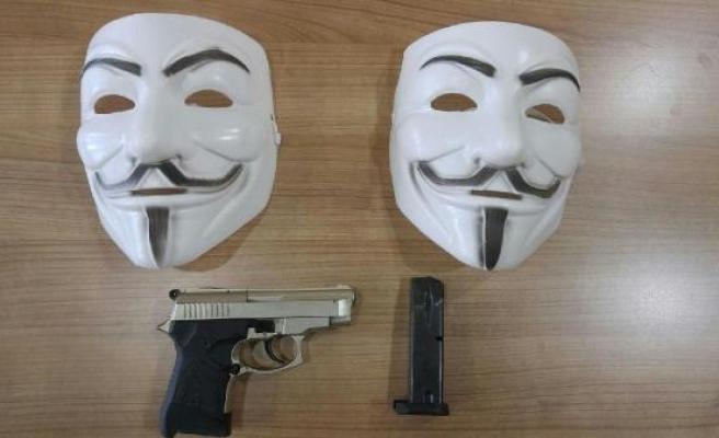 Bursa'da 'V for Vendetta' operasyonu