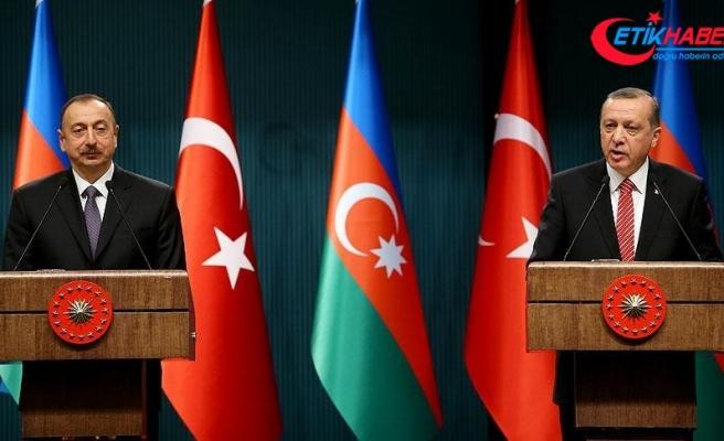 Erdoğan'dan Aliyev'e tebrik telefonu
