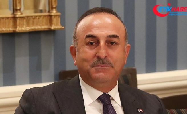 Dışişleri Bakanı Çavuşoğlu: Suriye'ye ilişkin düzenlenecek kongrelere prensipte bir itirazımız bulunmuyor