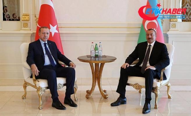 Erdoğan: Kars-Tiflis-Bakü demiryolunun hayata geçmesi bizi heyecanlandırıyor