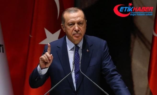 Erdoğan: Artık bu mızrak bu çuvala sığmıyor