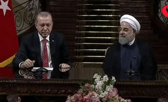 Erdoğan'dan flaş açıklamalar!.. 'Gerek İran'ın gerek Türkiye'nin...'