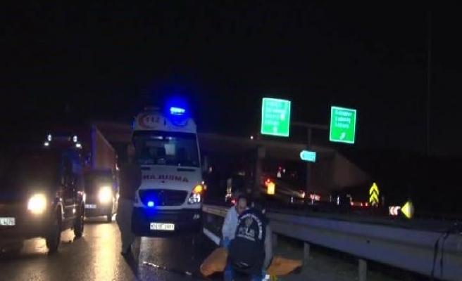 Esenler'de otomobil yayaya çarptı: 1 ölü