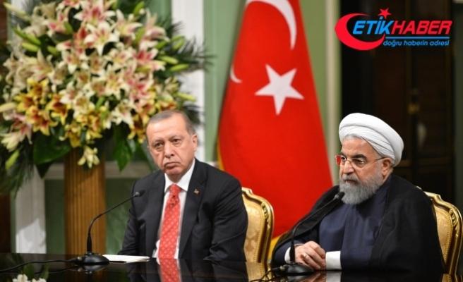 İran Cumhurbaşkanı Ruhani:  İki ülke arasındaki ekonomik ilişkilerin geliştirilmesi konusunda önemli kararlar alındı