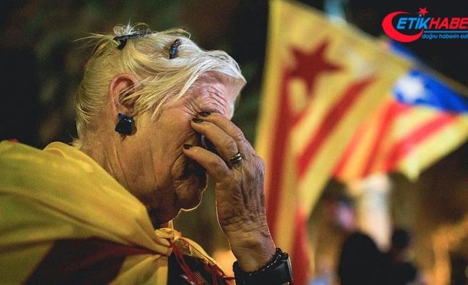Katalonya'nın bağımsızlık ilanı kararı askıya alındı