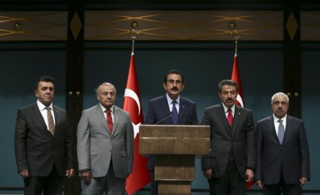 Erdoğan'la görüşen kanaat önderlerinden gayrimeşru referanduma karşı ortak bildiri