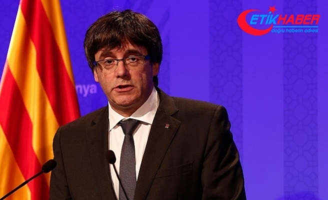 "Puigdemont'tan ""sürgün hükümeti"" isteği"