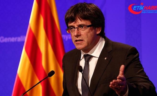Katalonya Başkanı Puigdemont 'bağımsızlık ilanından' geri adım atmıyor