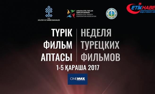 Kazakistan'da 'Türk Filmleri Haftası' düzenlenecek