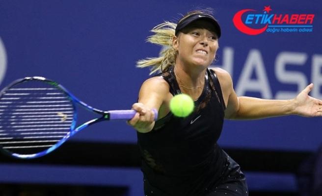 Sharapova çeyrek finalde