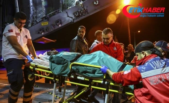 Somalili yaralılar Ankara'da tedavi altına alındı