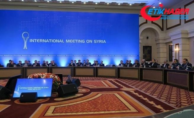 Suriye konulu 7. Astana toplantısı sürüyor