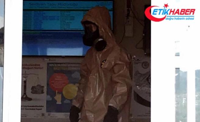Tapu Müdürlüğü'nde kimyasal alarmı