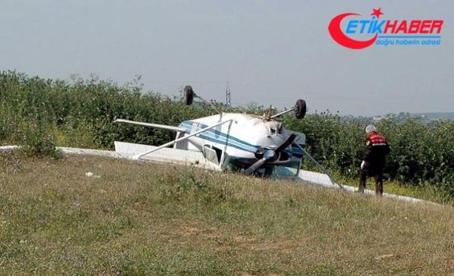 Tekirdağ'da eğitim uçağı düştü: 1 yaralı