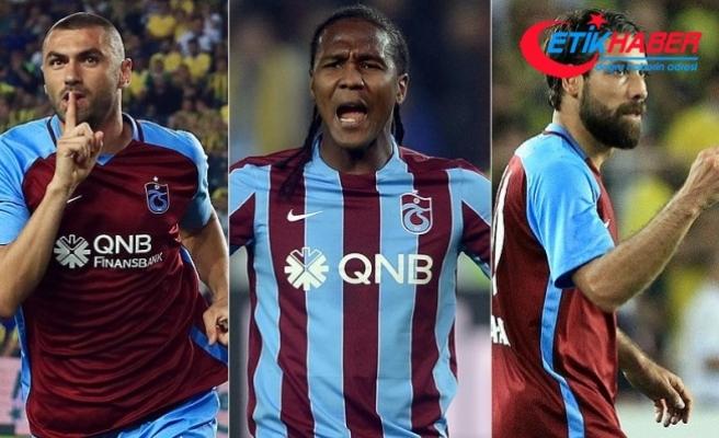 Trabzonspor'un hücum oyuncuları 13 takıma bedel