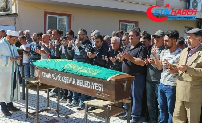 TÜPRAŞ'taki patlamada hayatını kaybeden işçilerden Kepenek'in cenazesi defnedildi