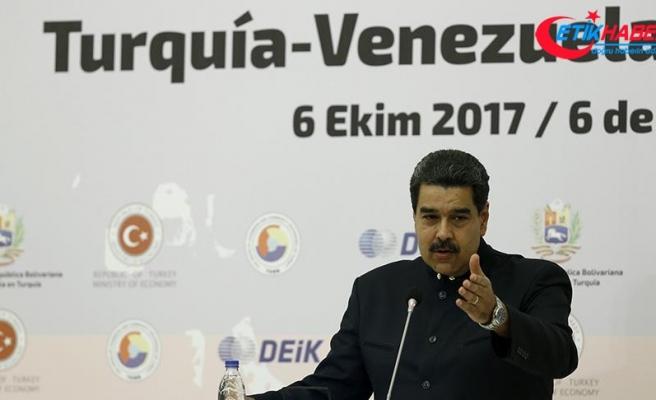 Venezuela Devlet Başkanı Maduro: Türkiye'deki iş insanlarına her türlü şartı sağlamaya hazırız