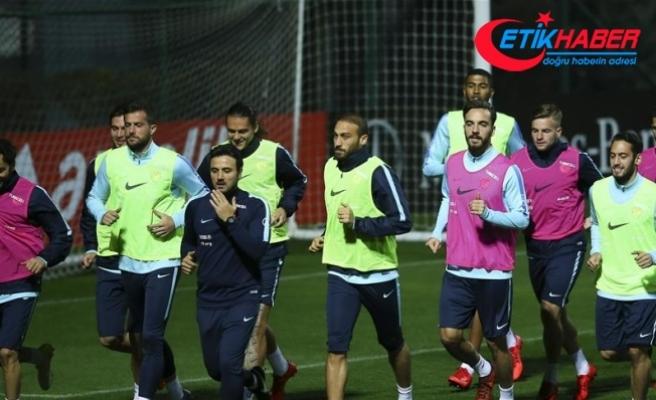 A Milli Takım, Romanya maçına hazır