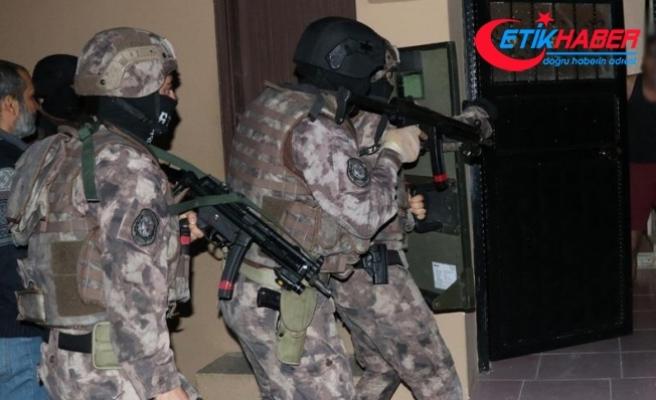 Adana'daki operasyonda çok sayıda kişi yakalandı