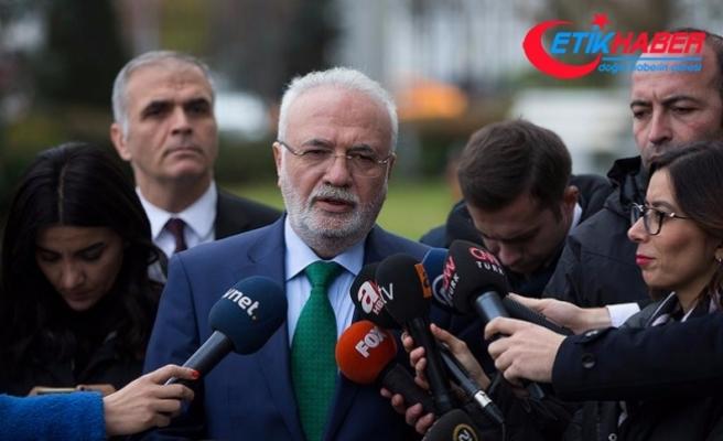 AKP'li Elitaş: Kılıçdaroğlu, çamurdan adam modeline girmiştir