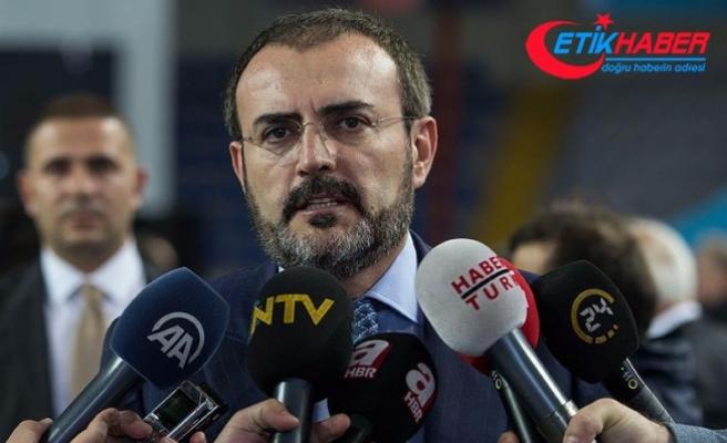 AKP'li Ünal: AKP ve MHP'nin bu çalışmayı sürdürmek için üçer kişiden oluşacak bir komisyon kurması düşünülmektedir