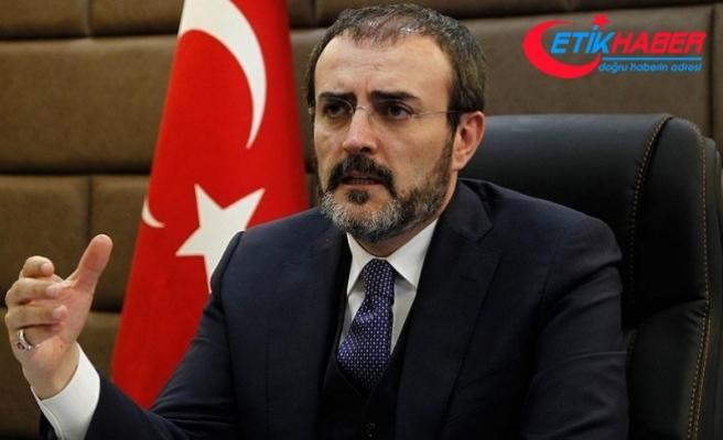 AK Parti Sözcüsü Ünal: Kudüs'te ancak barış sağlandığı zaman Ortadoğu düzene girer