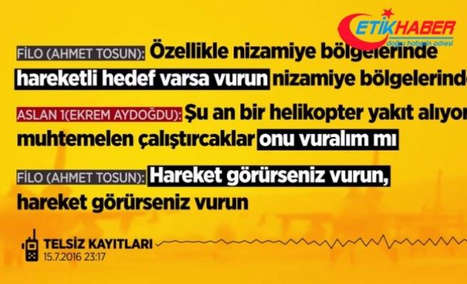 Ankara'nın bombalanması emirlerinin kaydını sildirmek istemiş