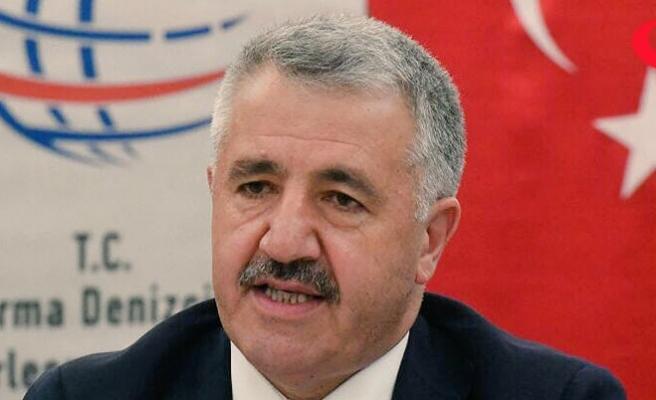 Ulaştırma Bakanı Arslan Brüksel'de