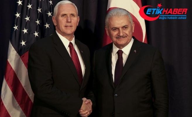 Başbakan Yıldırım ile Pence perşembe günü görüşecek
