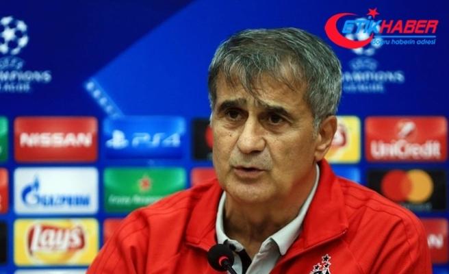 Beşiktaş Teknik Direktörü Güneş: Türkiye'yi iyi temsil ediyoruz