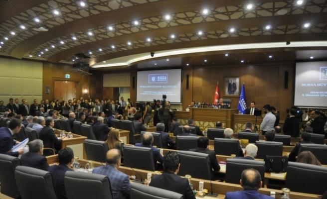 Bursa Büyükşehir Belediye Başkanlığına Aktaş seçildi