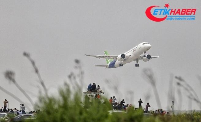 Çin yapımı yolcu uçağı ilk uzun mesafe uçuşunu yaptı